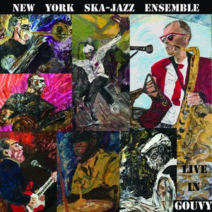 vinyl LP New York Ska-Jazz Ensemble ‎– Live In Gouvy
