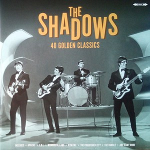 vinyl 2LP The Shadows ‎– 40 Golden Classics