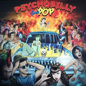 vinyl LP  Various ‎– Psychobilly Goes Pop