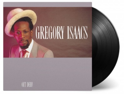 vinyl LP GREGORY ISAACS Out Deh