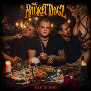 vinyl LP THE ROCKET DOGZ Bad blood