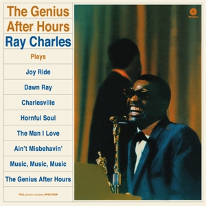 vinyl LP RAY CHARLES Genius After Hours