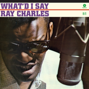 vinyl LP RAY CHARLES What'd I Say