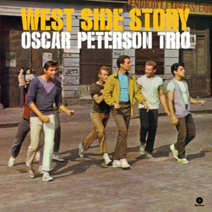 vinyl LP OSCAR PETERSON TRIO West Side Story Soundtrack
