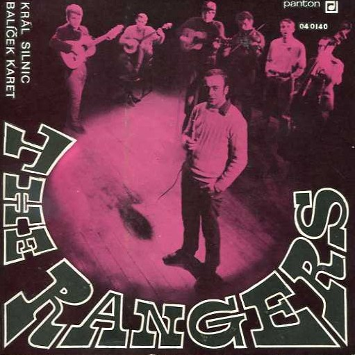 "vinyl 7""SP THE RANGERS Král silníc"