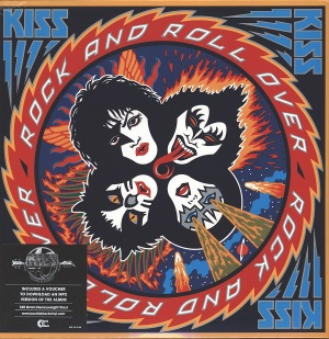 vinyl LP KISS Rock and Roll Over (40th Anniversary Edition)