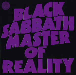 vinyl LP BLACK SABBATH MASTER OF REALITY