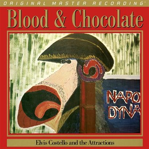 vinyl LP  Elvis Costello And The Attractions ‎– Blood & Chocolate