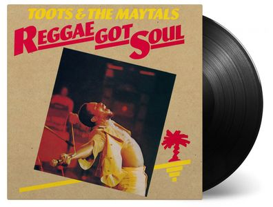 vinyl LP TOOTS & THE MAYTALS REGGAE GOT SOUL
