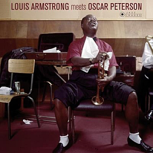 vinyl LP  Louis Armstrong, Oscar Peterson Louis Armstrong Meets Oscar Peterson