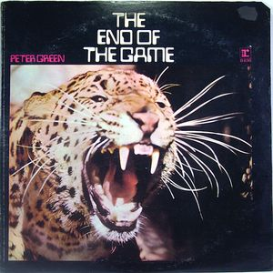 vinyl LP  Peter Green ‎– The End Of The Game