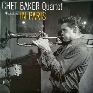 vinyl LP  Chet Baker Quartet In Paris