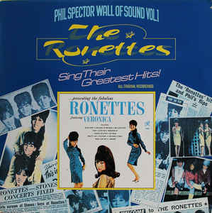 vinylova LP THE RONETTES The Ronettes Sing Their Greatest Hits