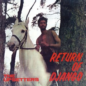 vinyl LP THE UPSETTERS RETURN OF DJANGO