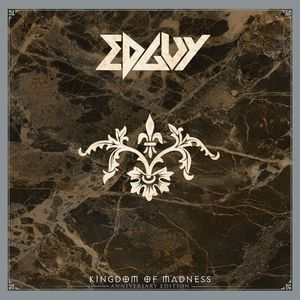 vinyl 2LP  Edguy Kingdom Of Madness (Gold vinyl)