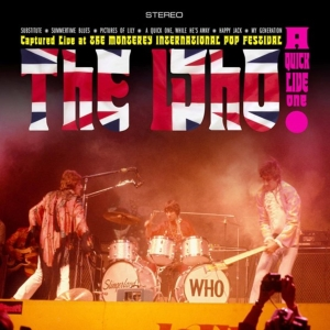 vinyl LP The Who A Quick Live One