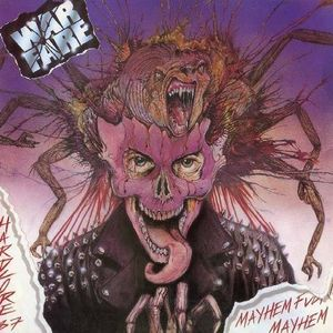 vinyl LP Warfare Mayhem Fuckin' Mayhem - Hardcore 87