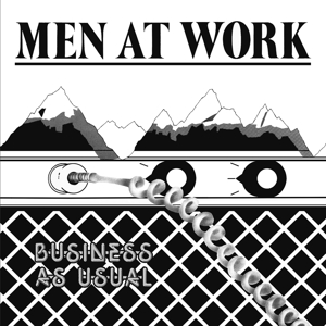 vinyl LP MEN AT WORK Business As Usual