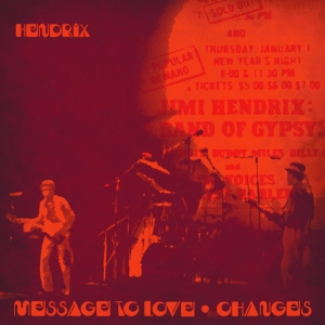 "vinyl 7"" Jimi Hendrix Message To Love (Live) / Changes (Live)"