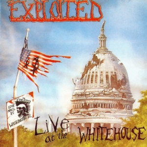 vinyl LP Exploited Live At the Whitehouse