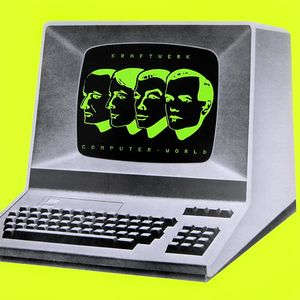 vinyl LP KRAFTWERK COMPUTER WORLD (YELLOW VINYL) / GB