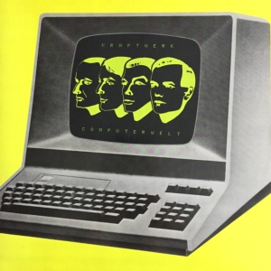 vinyl LP KRAFTWERK COMPUTERWELT (YELLOW VINYL) / GER