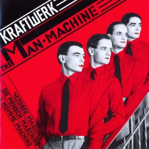 vinyl LP KRAFTWERK THE MAN-MACHINE (RED VINYL) / GB