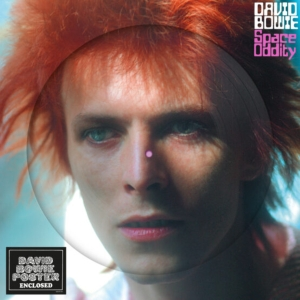 vinyl LP BOWIE, DAVID SPACE ODDITY (PICTURE VINYL ALBUM)