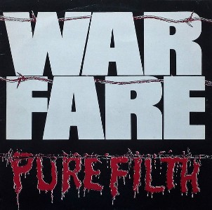 vinyl LP Warfare Pure Filth