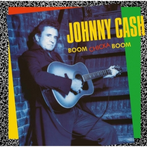 vinyl LP Johnny Cash Boom Chicka Boom