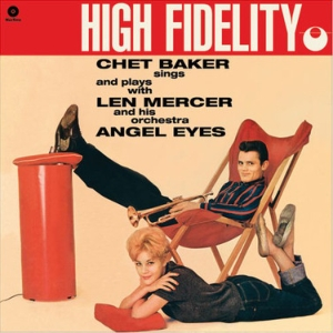 vinyl LP Chet Baker Sings And Plays With Len Mercer And His Orchestra ‎Angel Eyes