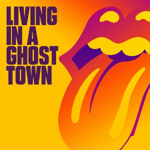 "vinyl 10""LP THE ROLLING STONES Living In A Ghost Town"