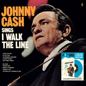 vinyl LP Johnny Cash ‎– Sings I Walk The Line