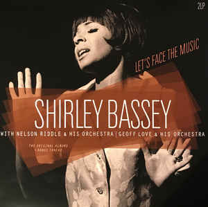 vinyl 2LP SHIRLEY BASSEY Let's Face the Music/S.B.