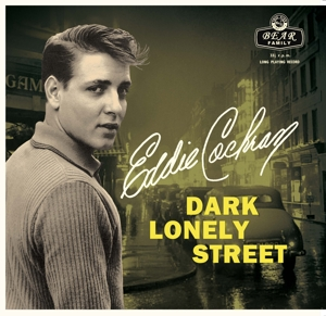 "vinyl 10""+CD Eddie Cochran Dark Lonely Street"