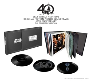 vinyl 3LP OST Star Wars A New Hope (Anniversary Edition Boxset)