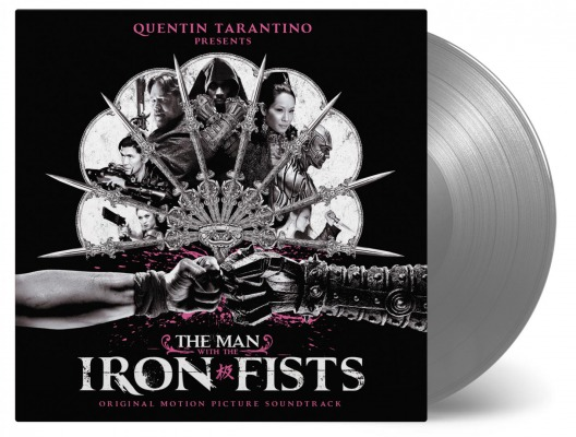 vinyl 2LP MAN WITH THE IRON FISTS (soundtrack)