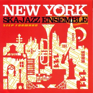 vinyl LP NEW YORK SKA JAZZ ENSEMBLE Step Forward