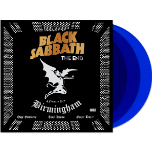 vinyl 3LP BLACK SABBATH The End (blue vinyl )