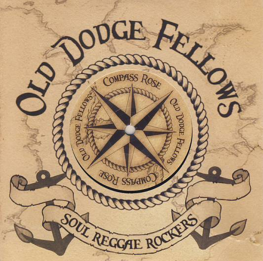 "vinyl 7""SP OLD DODGE FELLOWS Compass Rose"