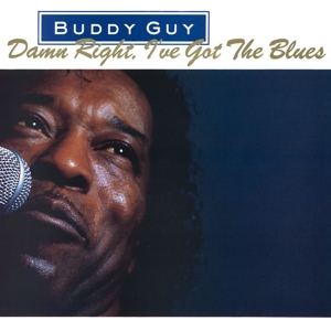 vinyl LP BUDDY GUY DAMN RIGHT, I'VE GOT THE BLUES