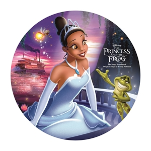 vinyl LP OST Princess and the Frog (Picture Disc)