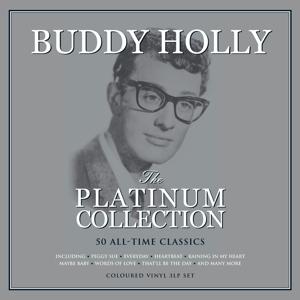 vinyl 3LP Buddy Holly The Platinum Collection