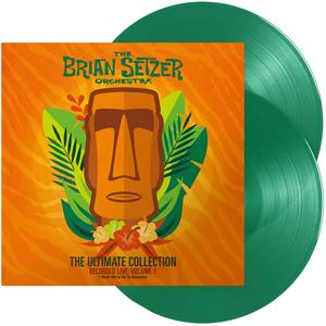 vinyl 2LP Brian Setzer Orchestra Ultimate Collection Vol.1