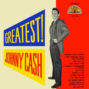 vinyl LP Johnny Cash ‎Greatest!