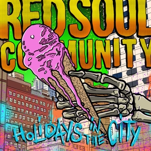 vinyl LP Red Soul Community Holidays In The City