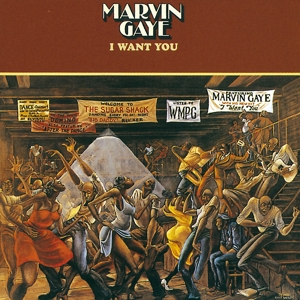 vinyl LP Marvin Gaye ‎I Want You