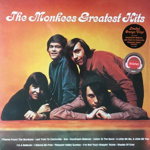 vinyl LP The Monkees Greatest Hits (Orange Vinyl)