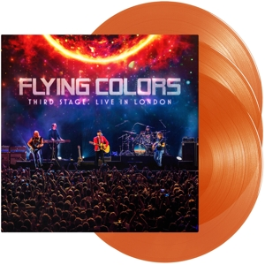 vinyl 3LP FLYING COLORS Third Stage:Live In London