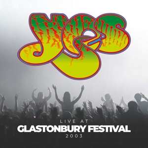 vinyl 2LP Yes Live At Glastonbury Festival 2003